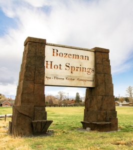 New Hot Springs Sign